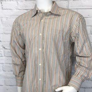 Men's Robert Talbott shirt size 16 1/2 33 dress 👔